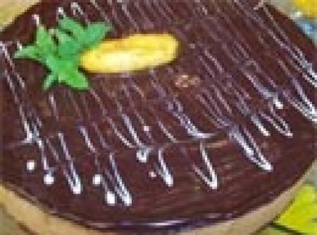 Torta Surpresa de Banana