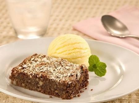 Brownie de Chocolate e Aveia