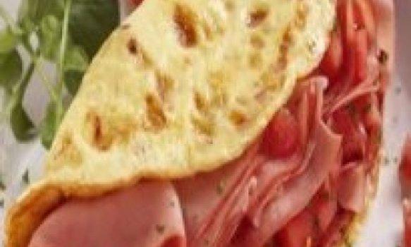 Omelete de Mortadela