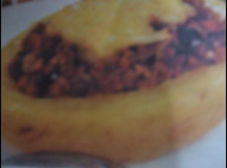 Barquinha de Batata com Carne Moída