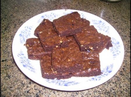 Brownie de chocolate da Tati