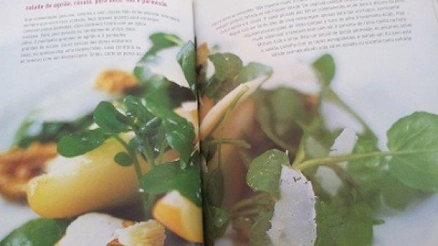 Salada de Agrião e pêra