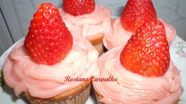 Cupcakes da Moranguinho