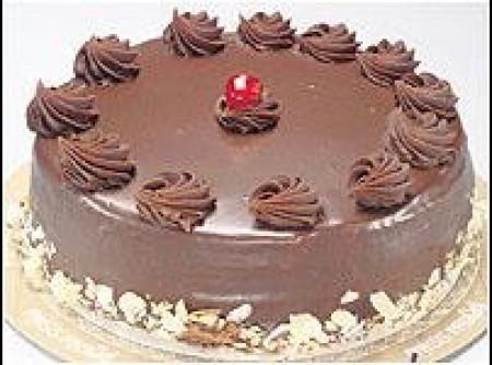 Torta Gelada de Chocolate | Flavia