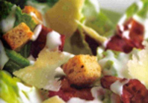 Salada crespa com iogurte
