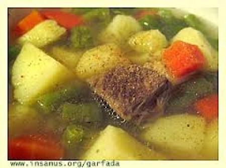 Sopa de Carne com Legumes