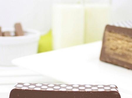 Chocolate Kit kat Caseiro
