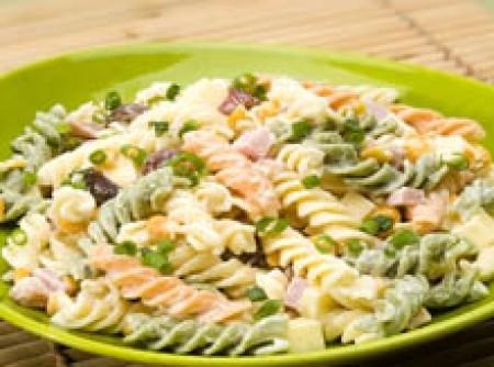 Salada de Macarrão com Camarão | CyberCook