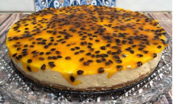 Cheesecake de Maracujá