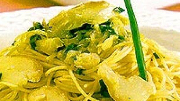 Espaguete de Bacalhau e Alho