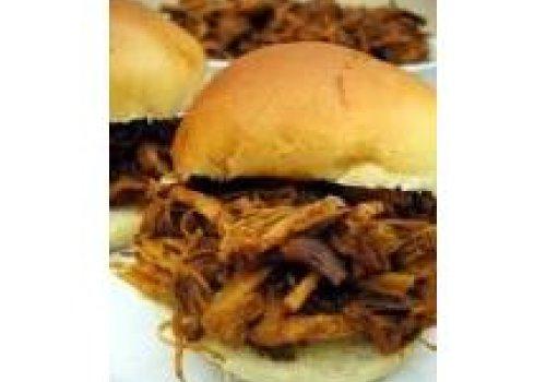 Lombo de Porco Desfiado ao Molho Barbecue