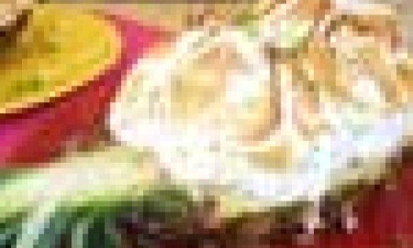 Abacaxi Cremoso com Merenge