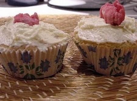 Cupcakes de Baunilha