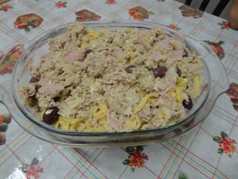 Macarrão com Atum | rosana galhardo