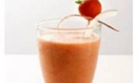 Suco diferente de morango