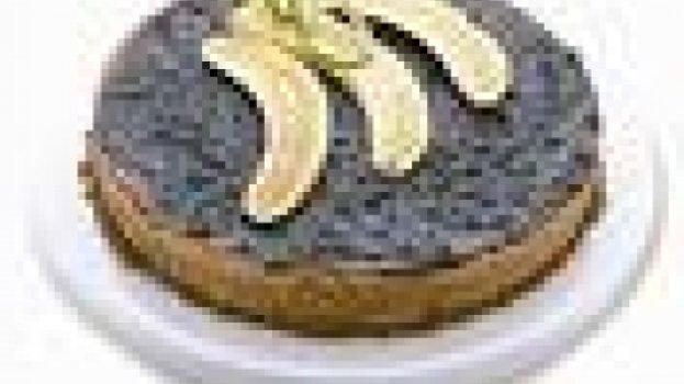 Torta de Banana Cremosa e Fácil