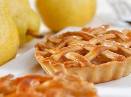 Tortinha de pera
