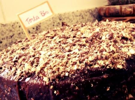 Torta Bis com Bolo de Chocolate