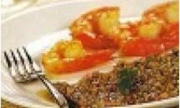 Camarão grelhado ao pesto de castanha de caju