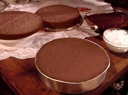 Genoise de chocolate   Catia Hernandes
