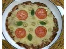 linguizza ( pizza de linguiça)
