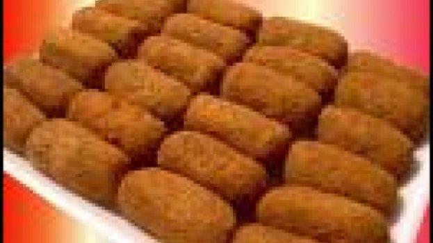 Croquete integral de farelo de aveia, Mandioca e Parmesão