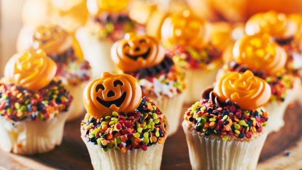 bolo decorado de halloween/cybercook