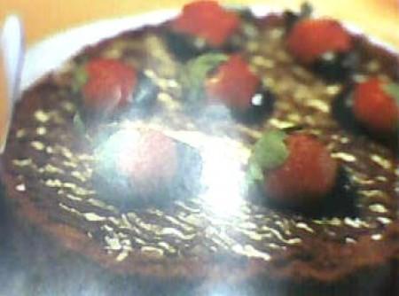 Bolo de chocolate da jana