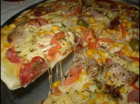 Pizza Caseira | Cristina Irene Hertel de Vasconcellos