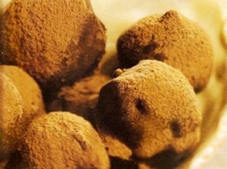 Trufas ao Azeite de Oliva Aromático de Baunilha