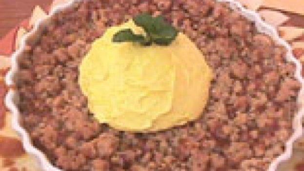 Torta de Maça Crocante