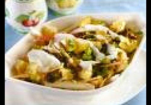 Salada tropical de frango
