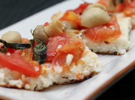 Torta Rápida de Tomates com Ricota