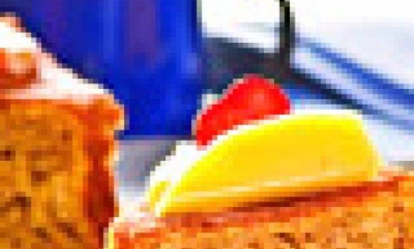 Bolo Cremoso de Frutas com Iogurte