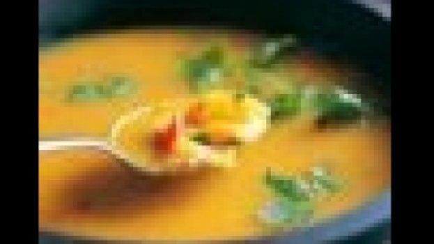 Calde peixe com legumes