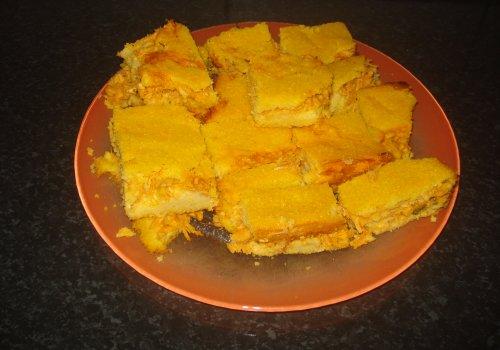 Torta de Frango e Milharina