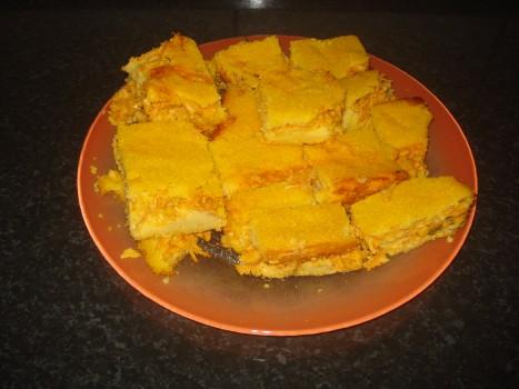 Torta de Frango e Milharina | Dalva Alves