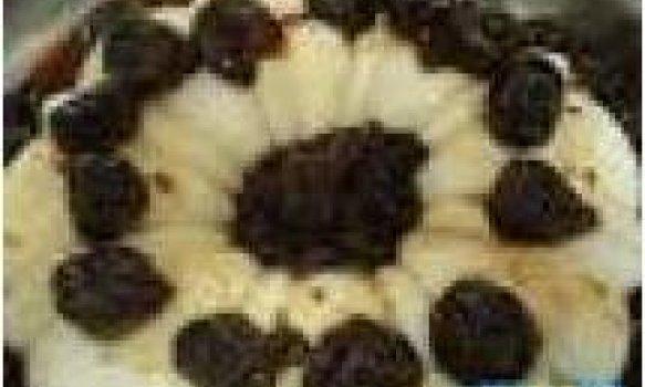 Manjar Branco c/ Calda de Ameixas