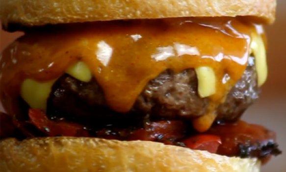 Spice Mayo Burger
