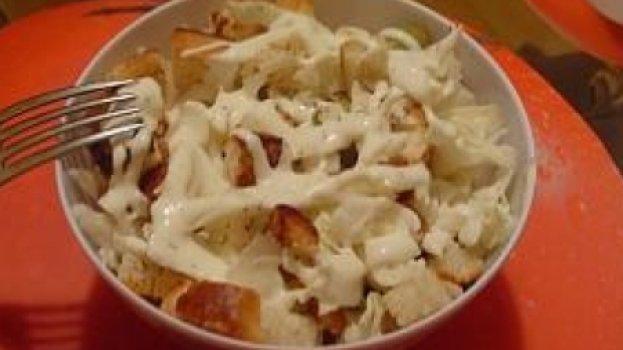 Salada de Repolho Branco