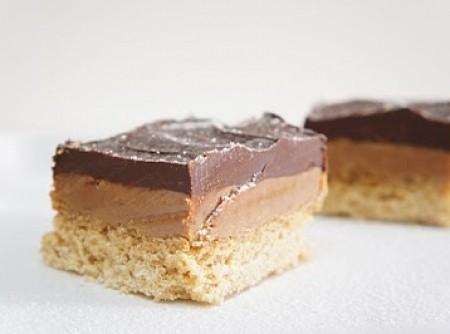 Bolo de Chocolate e Caramelo