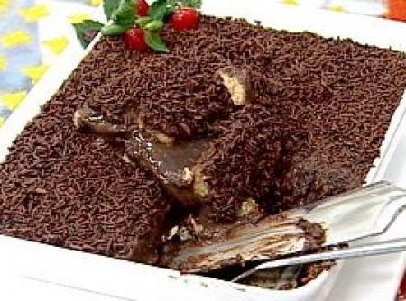 Pavê de Chocolate Maravilha