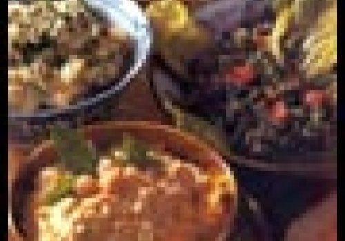 Comida Arabe)SALADA DE TRIGO (Tabule)
