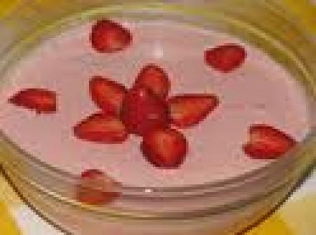 Mousse Super Prática de Gelatina e Iogurte