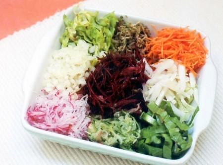Salada Colorida de legumes | CyberCook