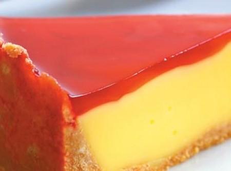Torta de pudim e gelatina
