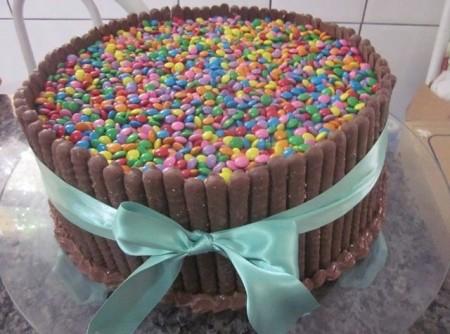 Torta Sinfonia de Maracujá com Chocolate