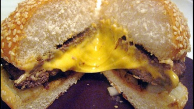 Hambúrguer Light Caseiro