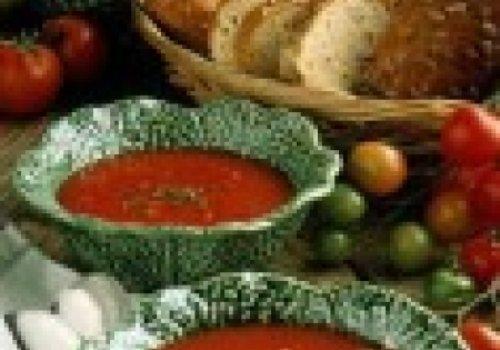 Sopa de Tomate com Quinua
