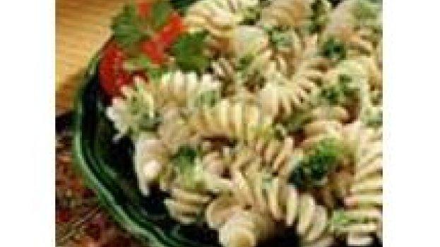 Fusilli com Gorgonzola e Brócolis